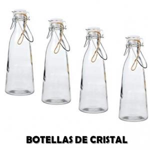 comprar botellas de vidrio baratas